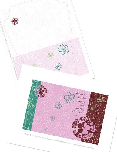 Friend-card-&-Env