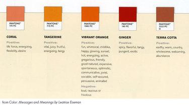 Orangepantones