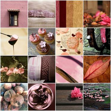 Pinkbrownmosaic